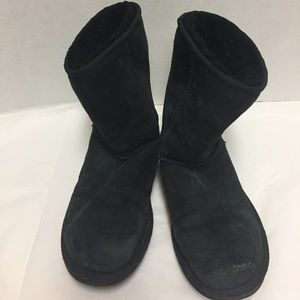 Ugg Boots Black Size 6 Classic Short